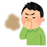臭いと鼻をつまむイメージ