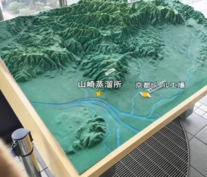 地形の模型イメージ